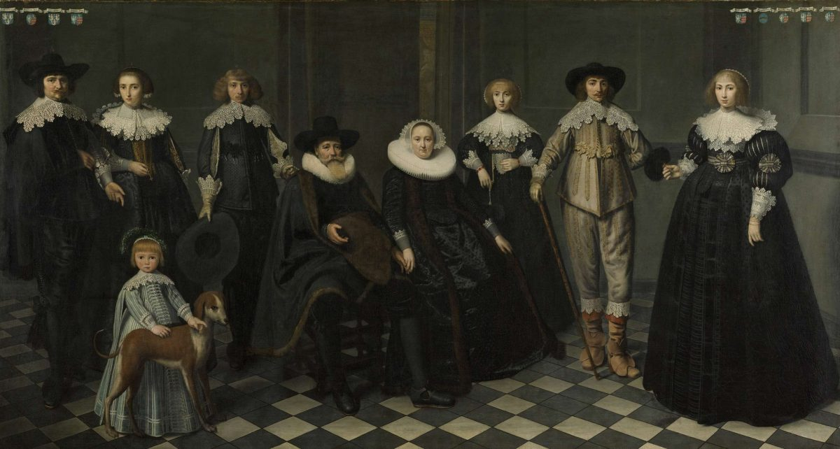 Portrait of the Family of Dirck Bas Jacobsz