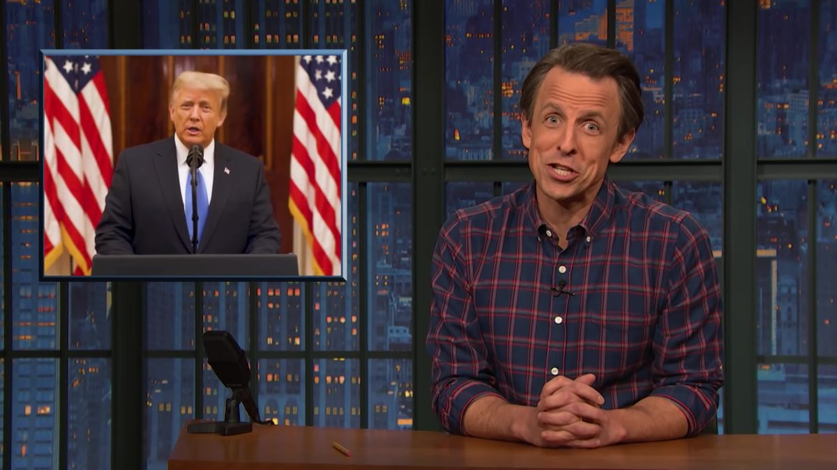 The End of the Trump Presidency: A Closer Look - Late Night with Seth Meyers
