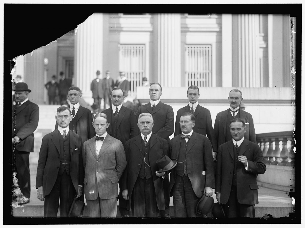 The original district governors of the Federal Reserve System