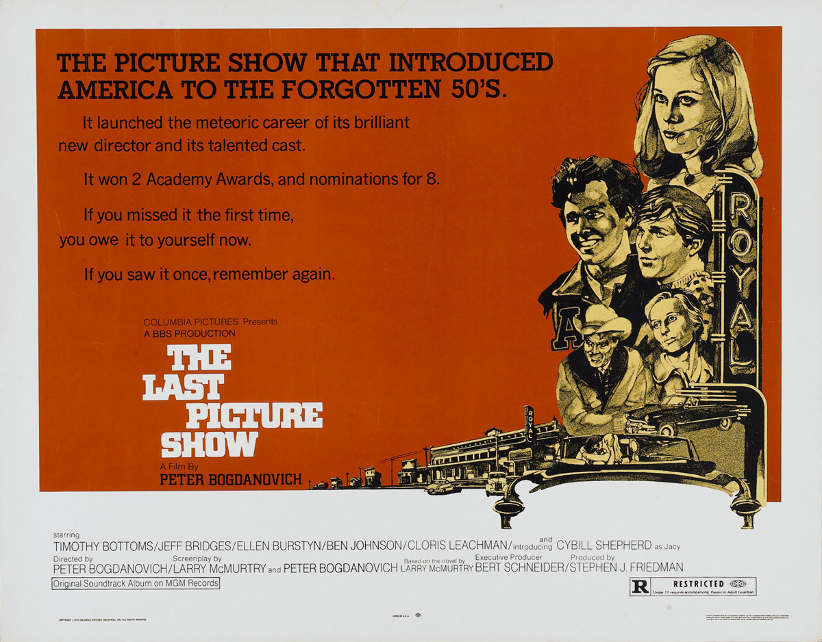 The Last Picture Show - Poster