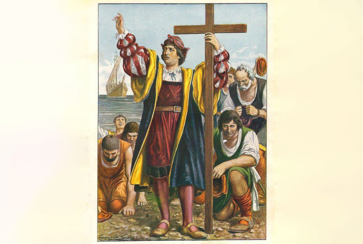 Christopher Columbus, by Tancredi Scarpelli, 1931