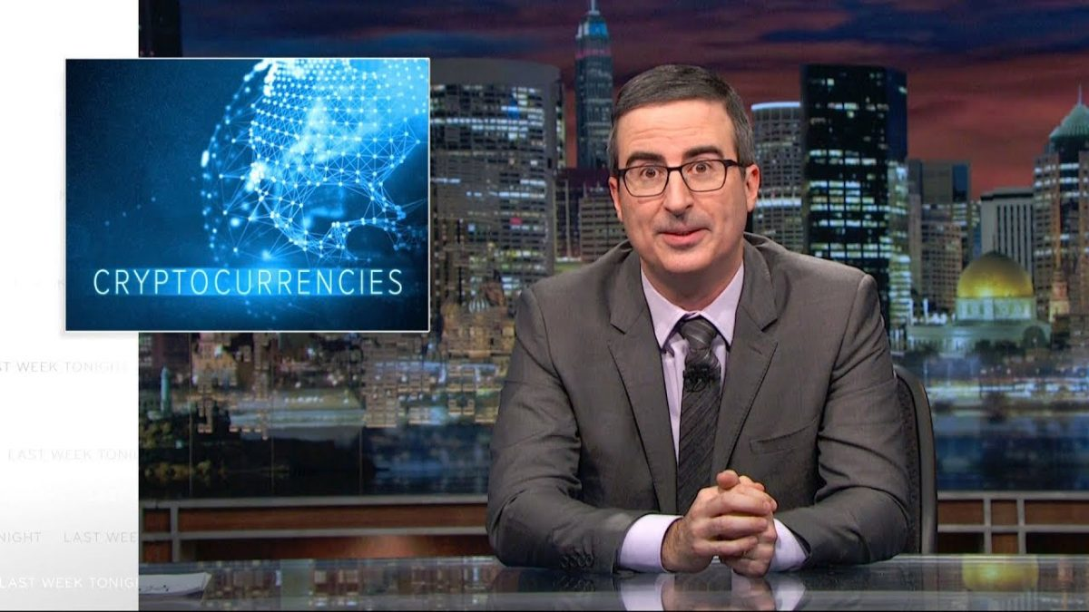 Cryptocurrencies: Last Week Tonight with John Oliver