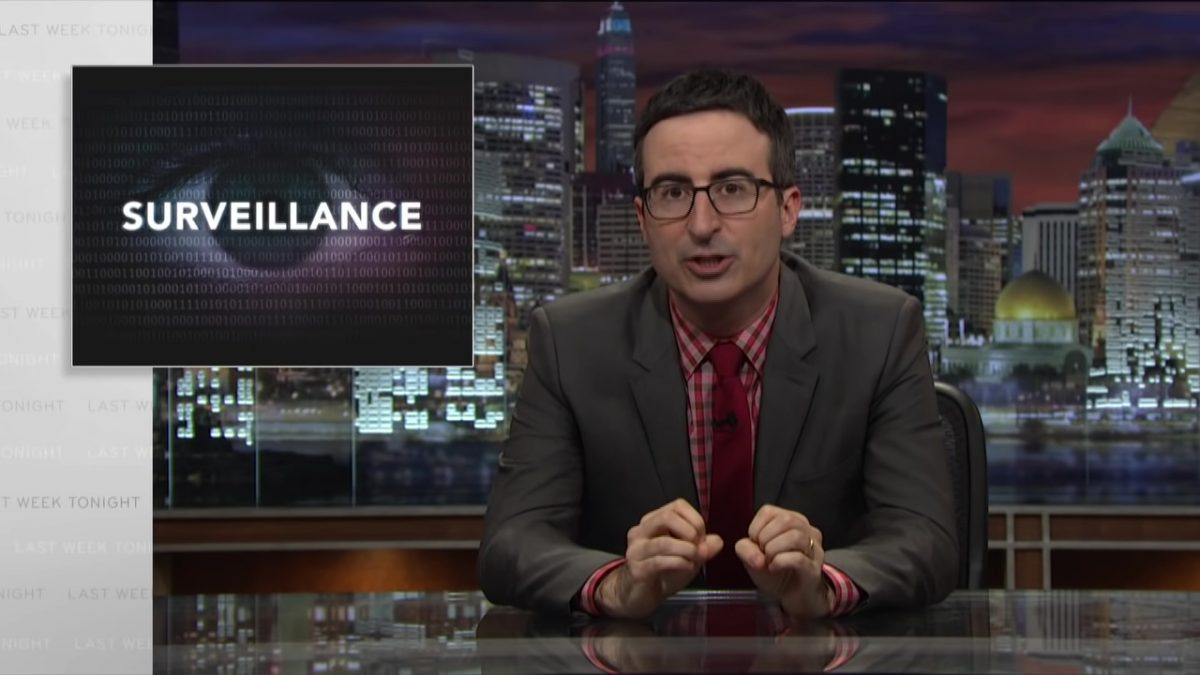 Government Surveillance Last Week Tonight with John Oliver