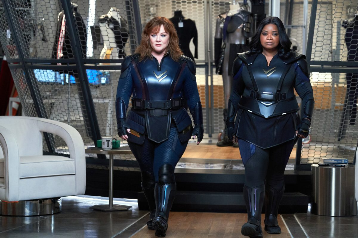 Thunder Force (2021) Melissa McCarthy and Octavia Spencer