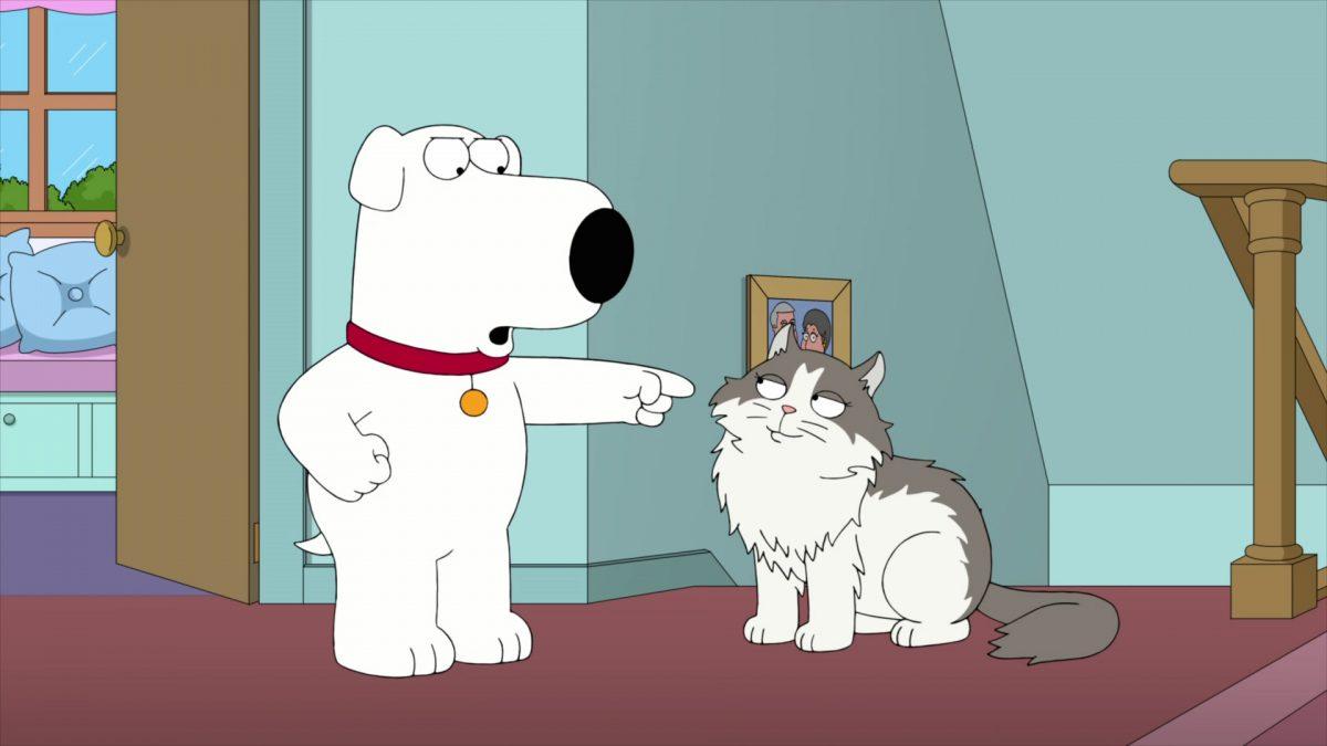 Family Guy - S19E19 - Family Cat