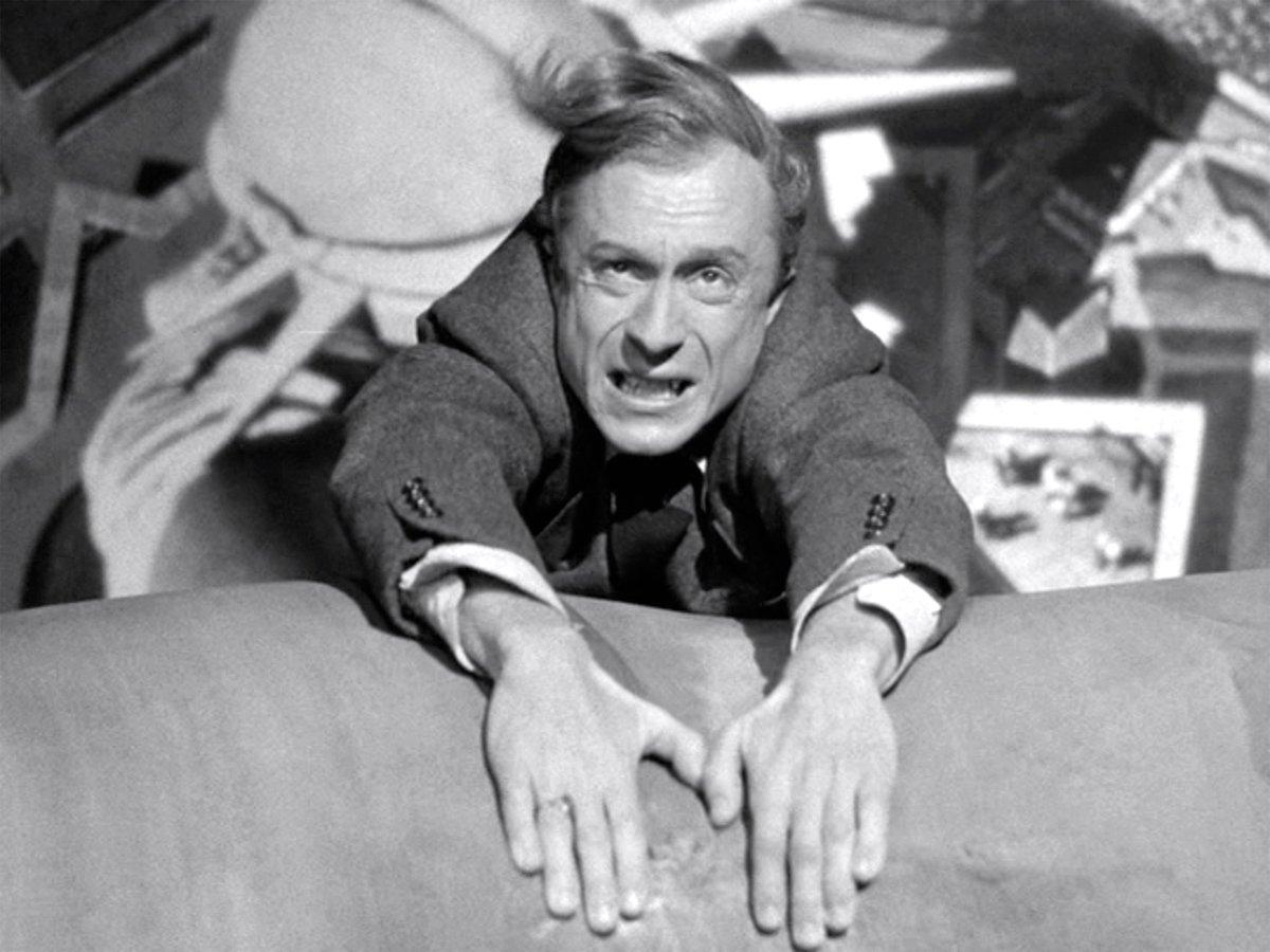 "Norman Lloyd in 1942's ""Saboteur"""