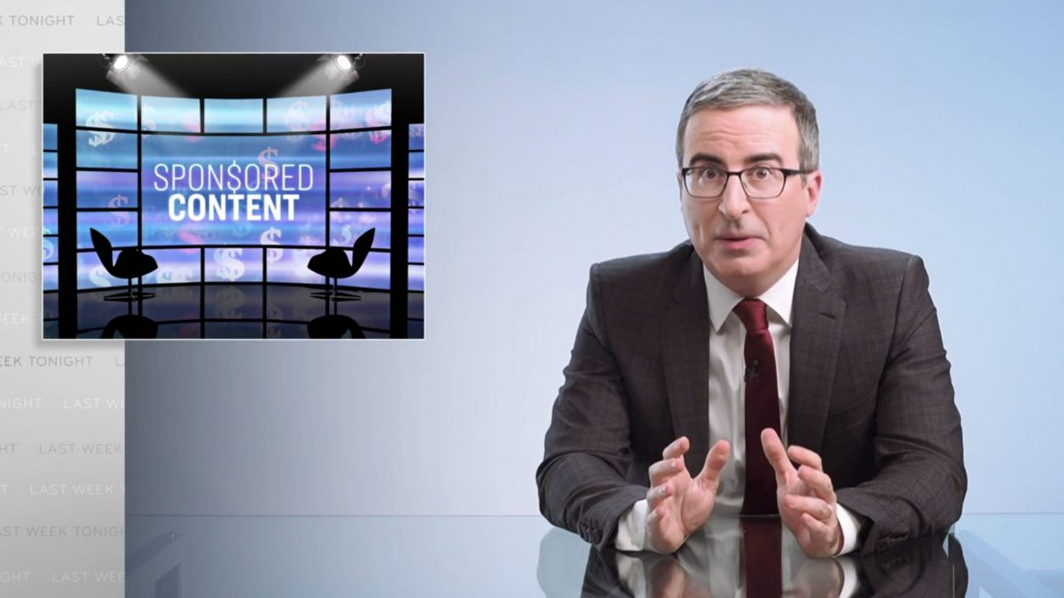 Sponsored Content: Last Week Tonight with John Oliver