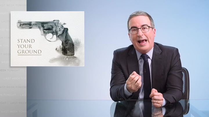 Stand Your Ground Last Week Tonight with John Oliver