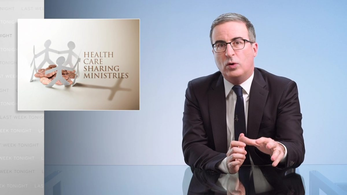 Health Care Sharing Ministries: Last Week Tonight with John Oliver