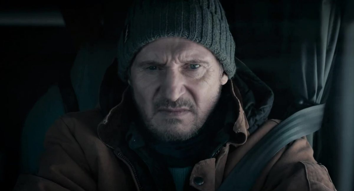 """Liam Neeson in """"The Ice Road"""" (2021)"""