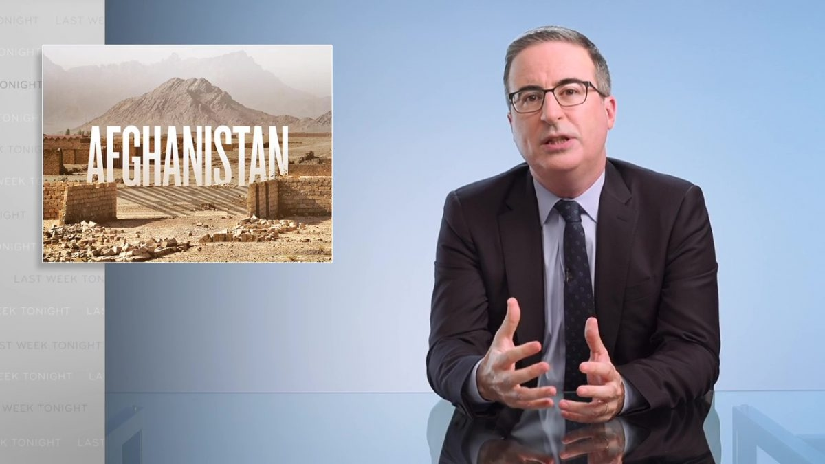 2021 Taliban Offensive: Last Week Tonight with John Oliver