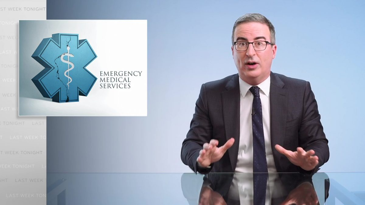 Emergency Medical Services: Last Week Tonight with John Oliver