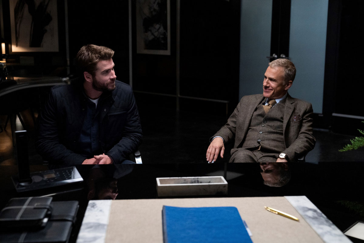 Most Dangerous Game (2020) Liam Hemsworth and Christoph Waltz