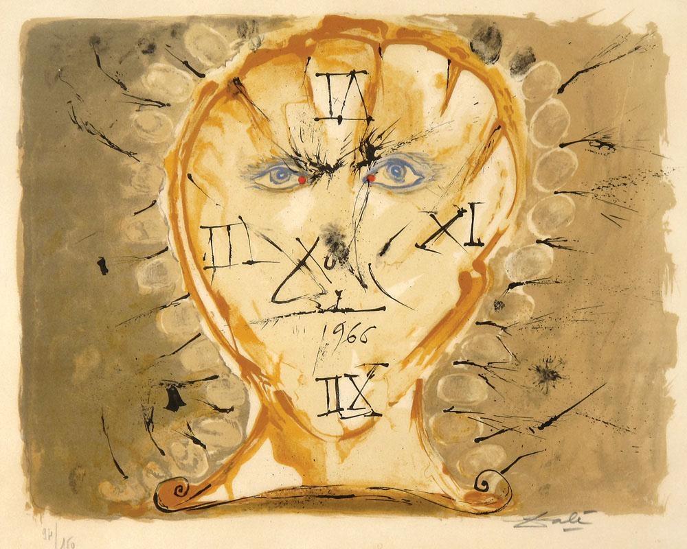 Salvador Dalí, Self Portrait