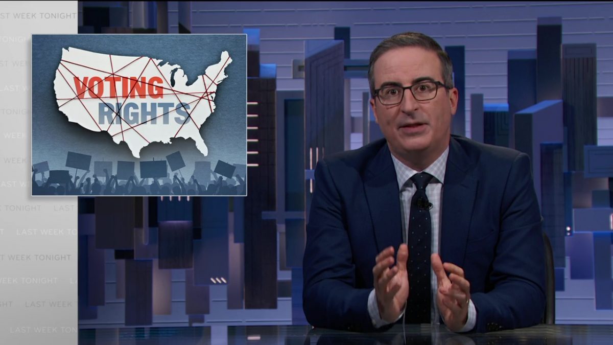 Voting Rights: Last Week Tonight with John Oliver