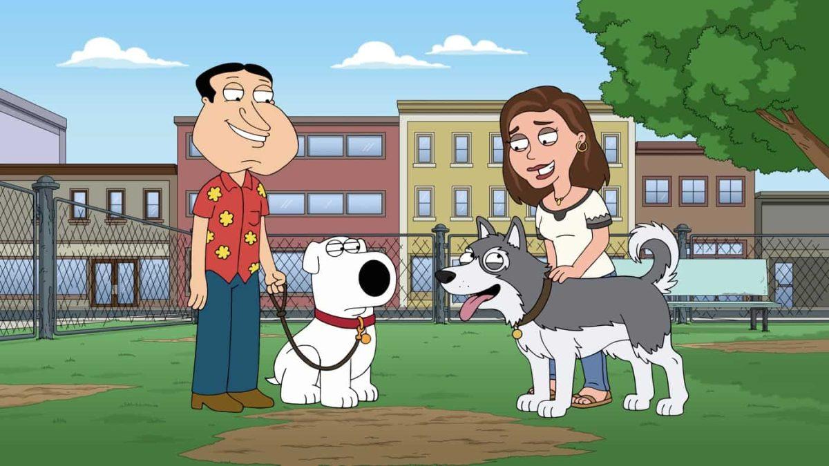 Family Guy - S20E03 - Must Love Dogs