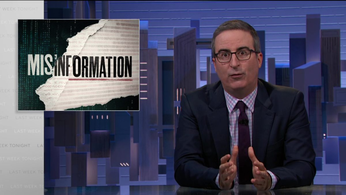 Misinformation: Last Week Tonight with John Oliver